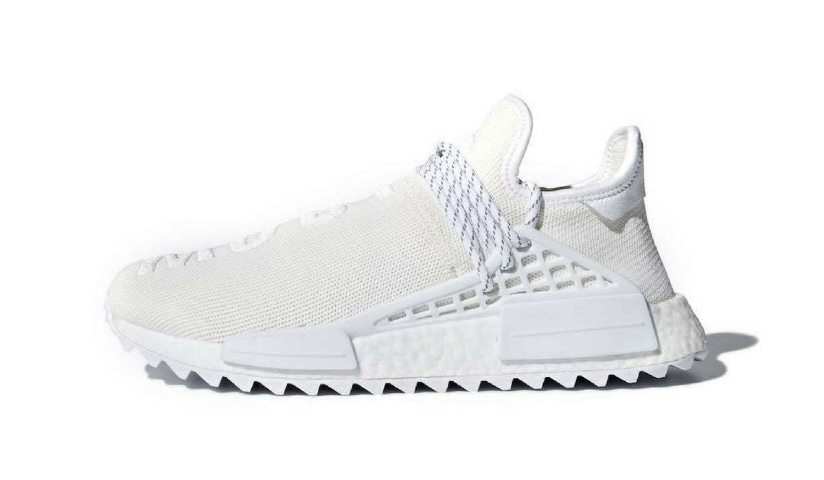 uk availability 49a02 01e93 Pharrell Williams x adidas NMD Hu Trail Holi Blank Canvas