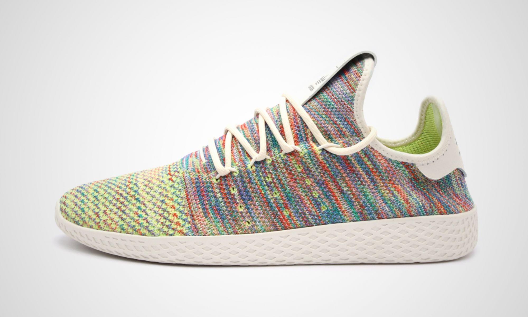adidas Tennis HU Multicolor by Pharrell Williams