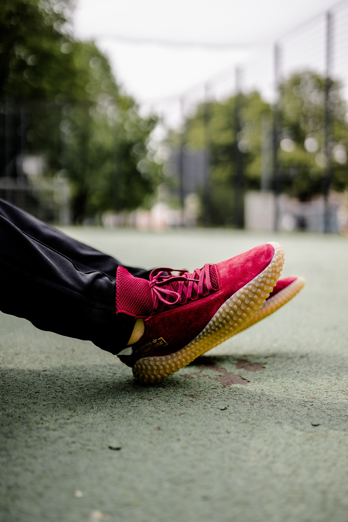 Am Fu 223 Adidas Kamanda Burgundy Dead Stock Sneakerblog