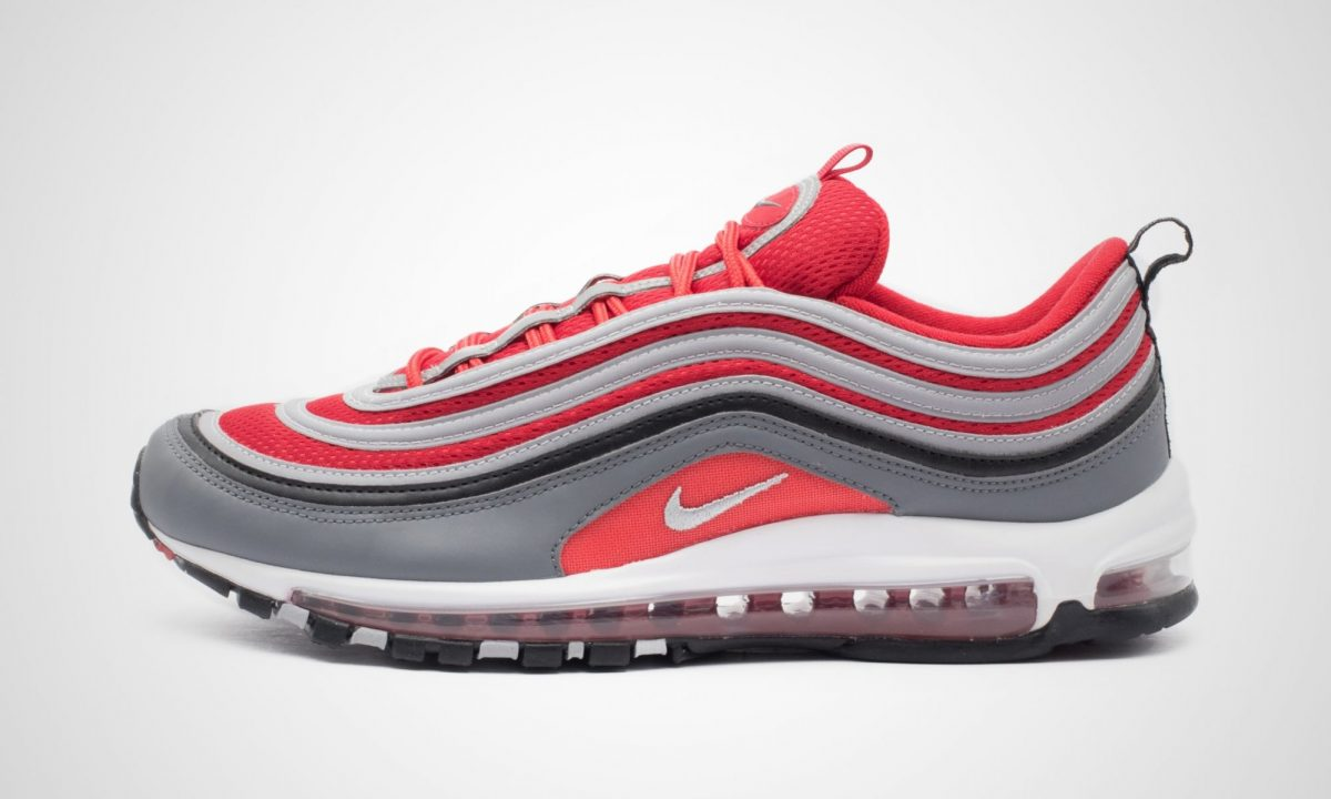 Nike Air Max 97 Wolf Grey Red