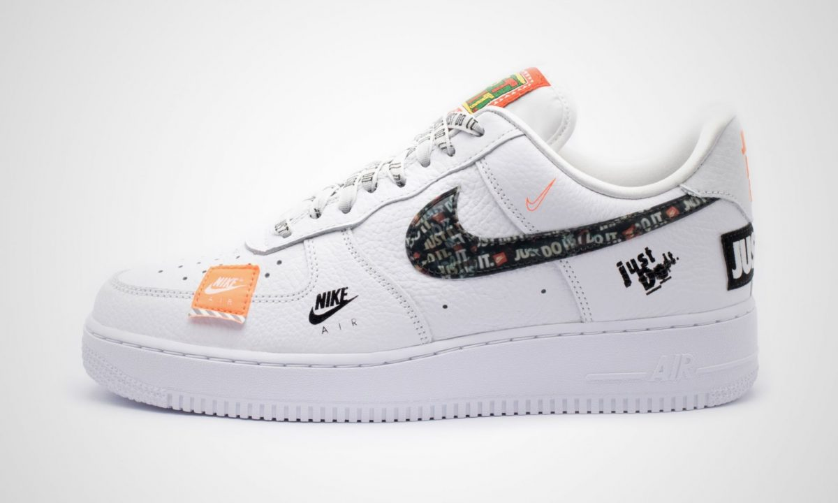 Nike Air Force 1 Premium Just Do It Pack Weiß