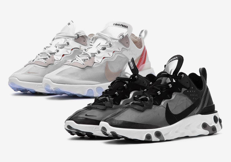 super cheap quality products new products Nike React Element 87 Sail