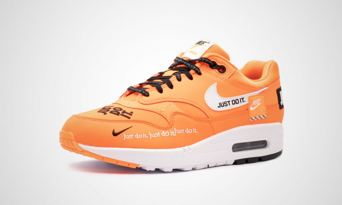 1c43dc4d914 Nike WMNS Air Max 1 Lux Just Do It Pack Orange | Dead Stock Sneakerblog