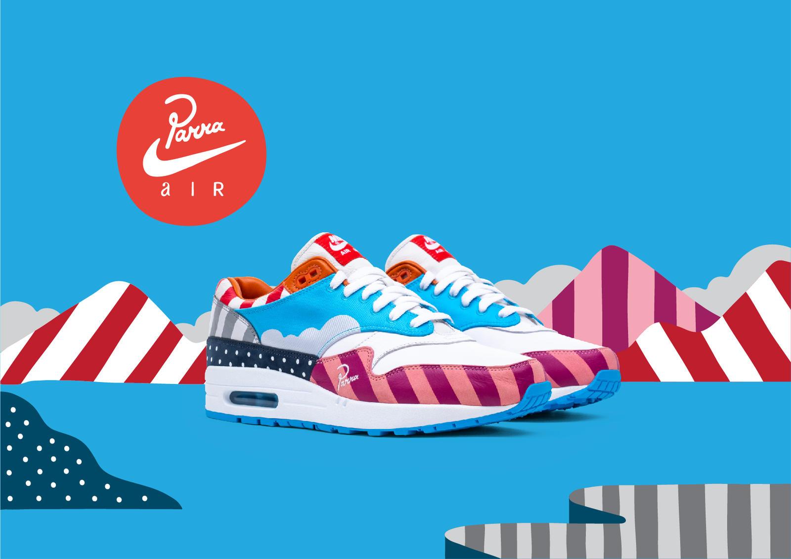 Parra x Nike Zoom Spiridon | Alle Release Infos | Dead Stock