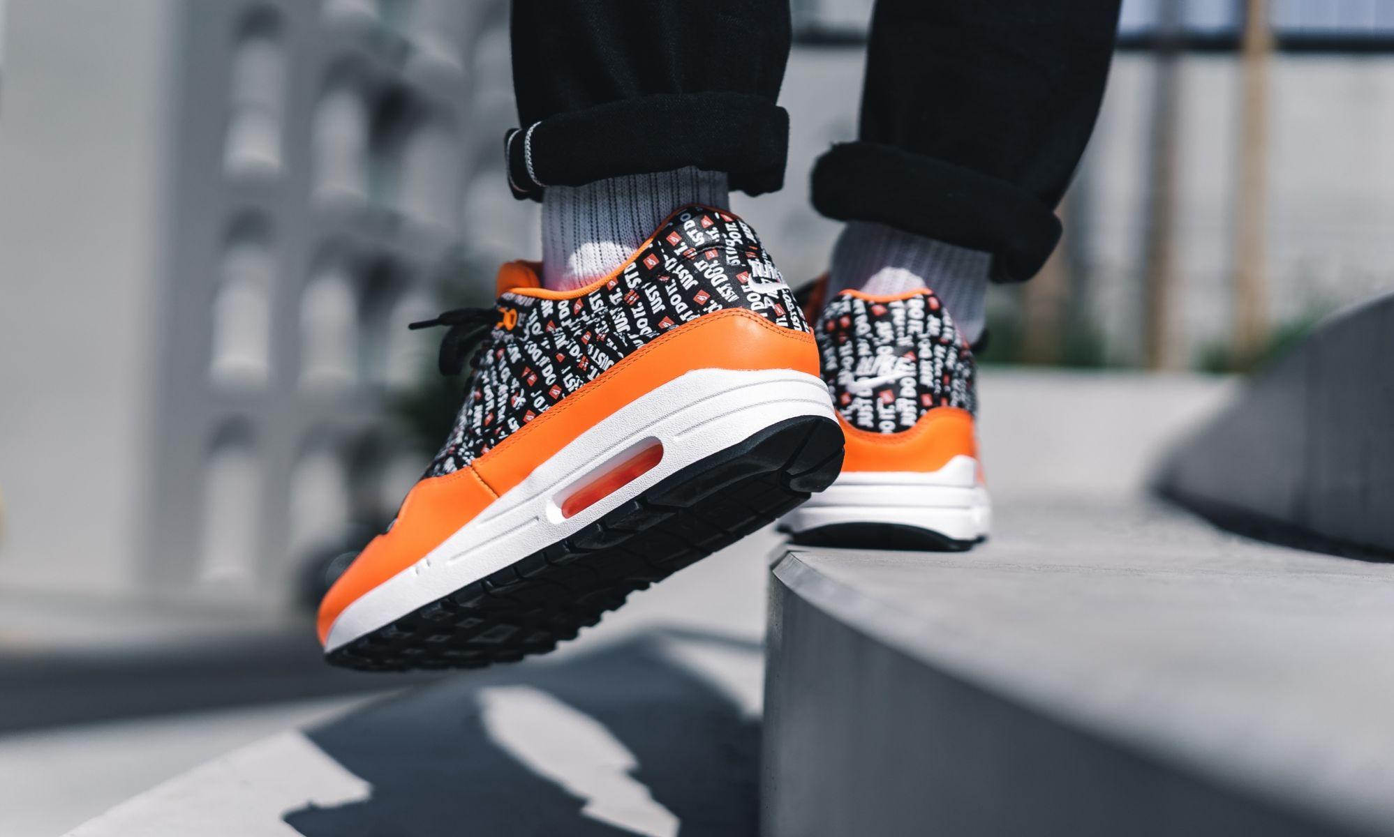 Nike Air Max 1 Premium Just Do It Orange | Alle Release-Infos | Dead ...
