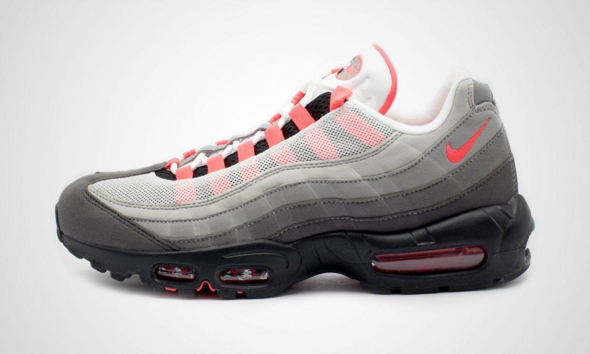 Nike Air Max 95 Og Red Dead Stock Sneakerblog