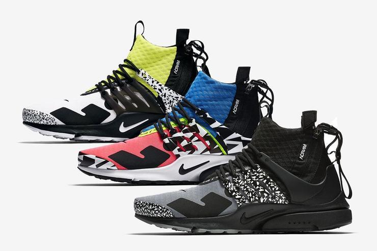 quality meet buy online Acronym x Nike Air Presto Mid Pack | Dead Stock