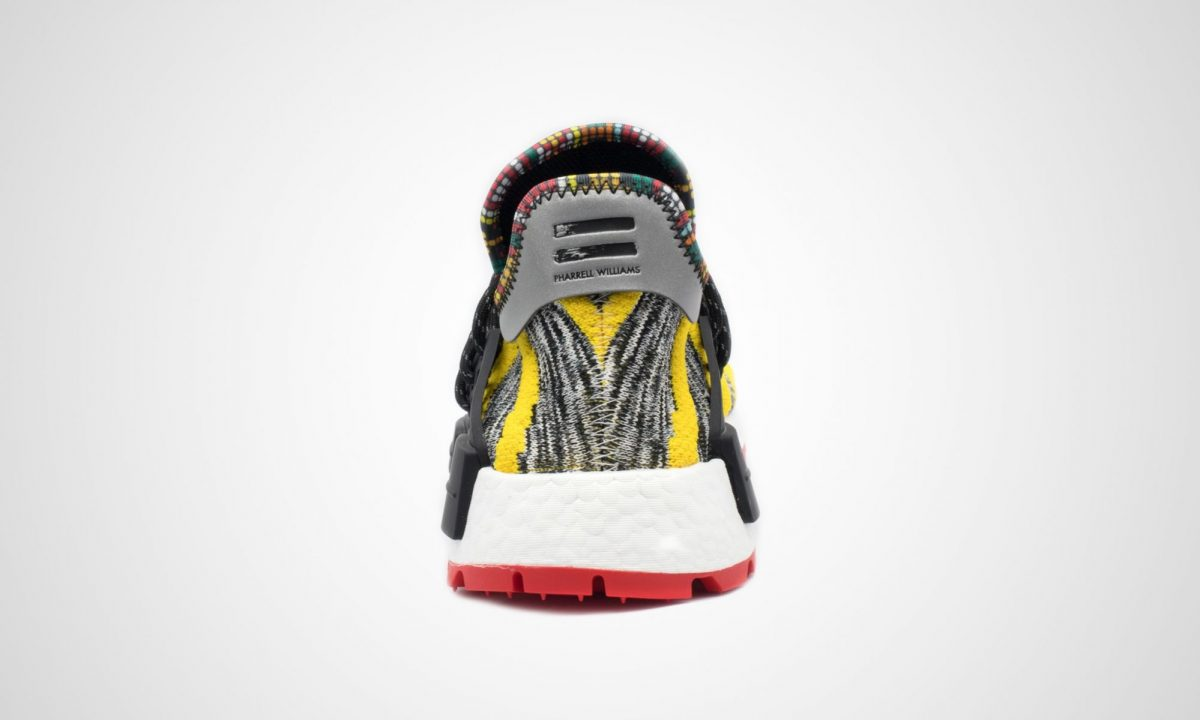 Pharrell Nmd Adidas Solarhu Hu YellowDead Afro Stock
