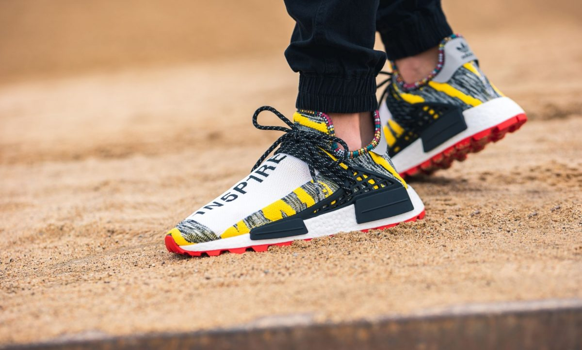 best website 5643e 6c09b Pharrell Williams x adidas Afro HU NMD Solarhu Yellow