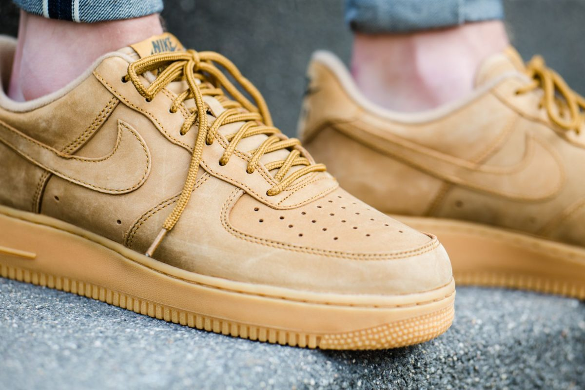Nike Air Force 1 07 Low Flax Wheat Dead Stock Sneakerblog