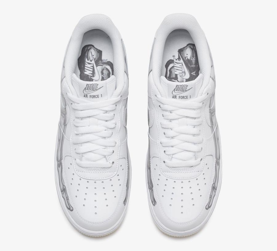 Nike Air Force 1 Skeletal Force White Dead Stock Sneakerblog