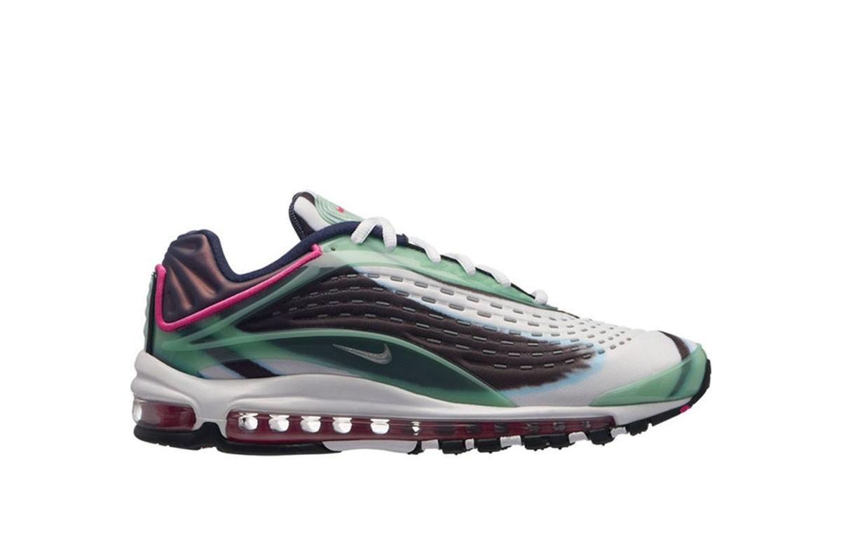 Nike Air Max Deluxe Enamel Green