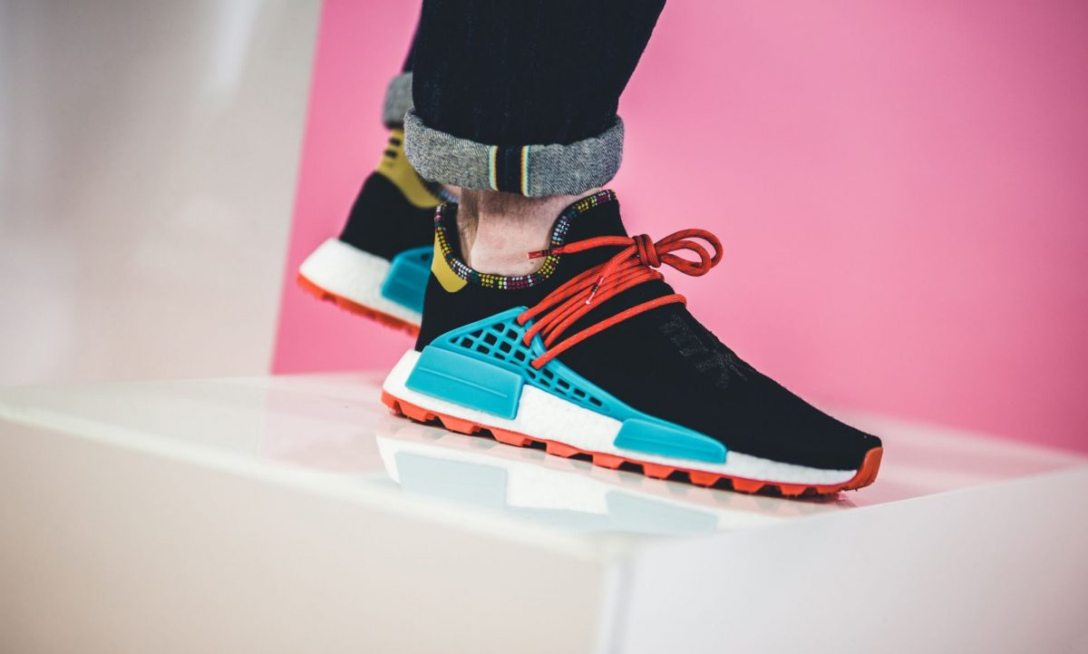 Pharrell Williams x Adidas Solar HU NMD Inspiration Pack Black