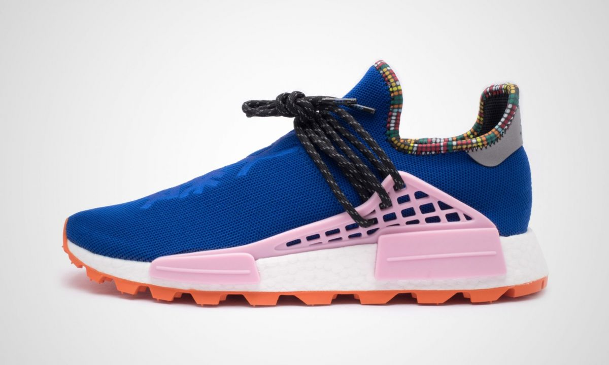 wholesale dealer e7f2e e5af5 Pharrell Williams x Adidas Solar HU NMD Inspiration Pack Power Blue