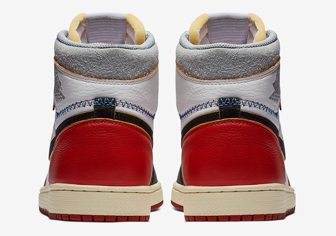 en soldes 1ae66 23652 Nike Air Jordan 1 Retro OG Union Los Angeles