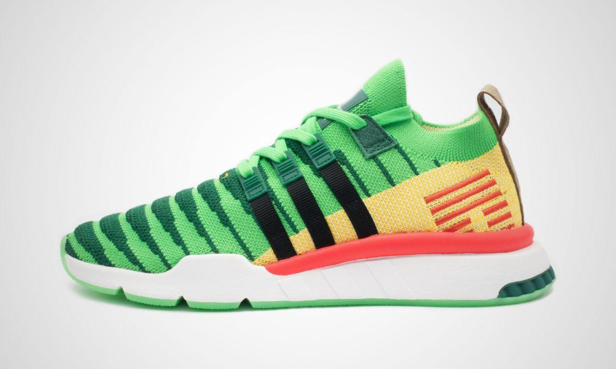 adidas Dragonball Z EQT Support Mid ADV Primeknit Shoes