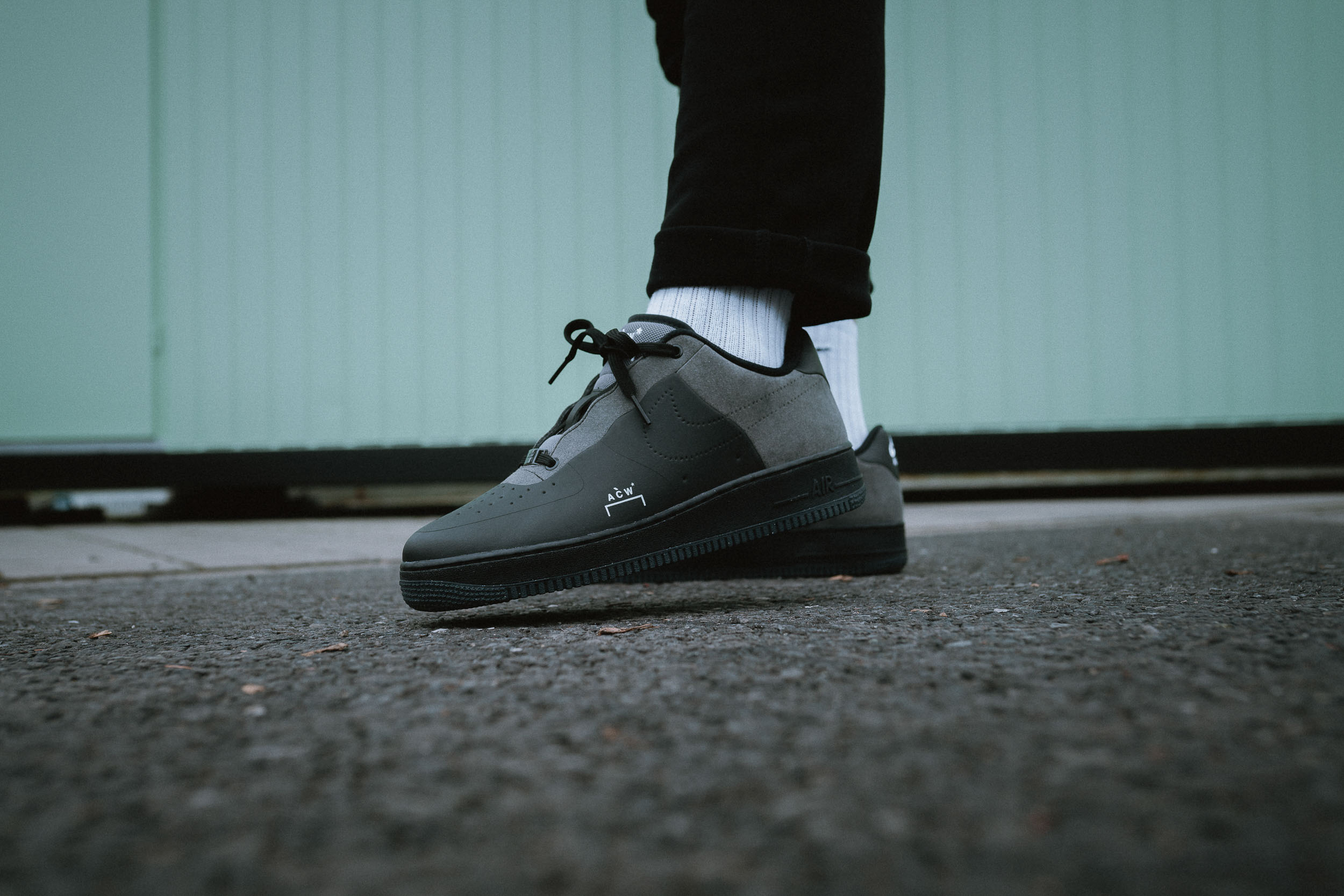 purchase cheap 8fdbe 1f99c Nike x A-COLD-WALL Air Force 1 - on feet  Dead