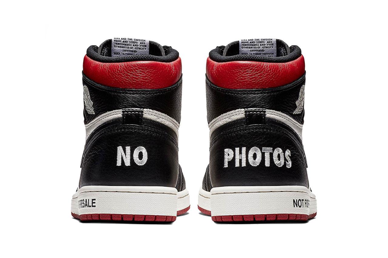Jordan 1 Not For Resale