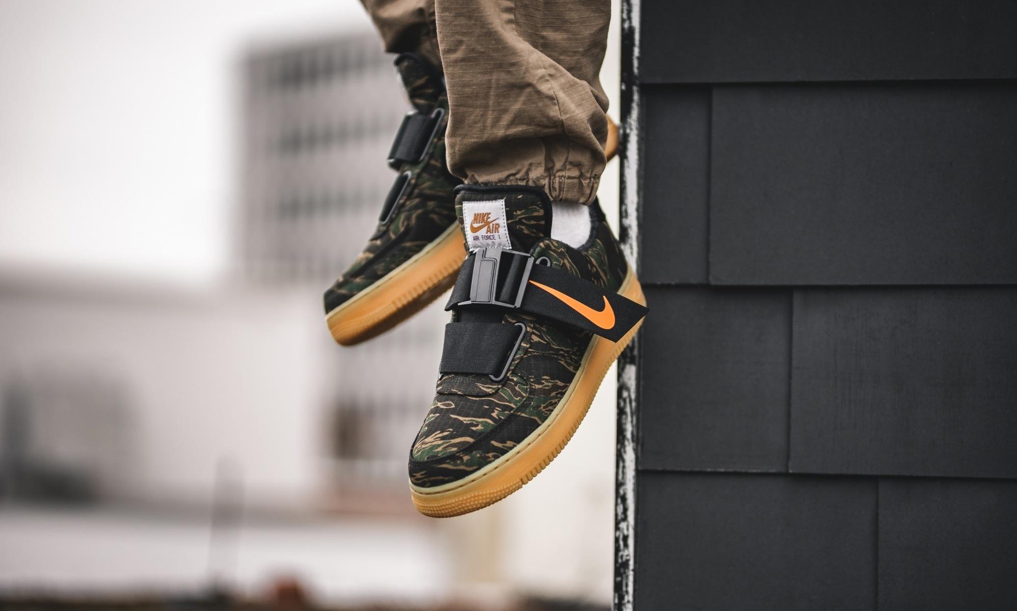 Carhartt x Nike Air Force 1 Low Utility Camo Green