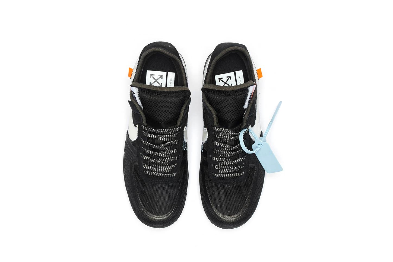 OFF-WHITE Nike Air Force 1 Black