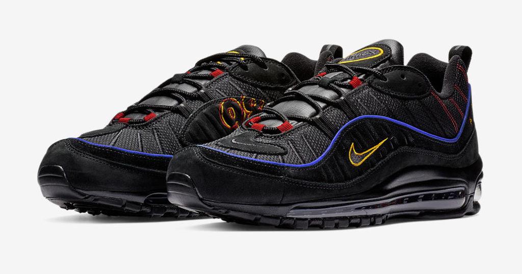 info for f68b7 0d148 Nike-Air-Max-98-black-amarillo   Dead Stock