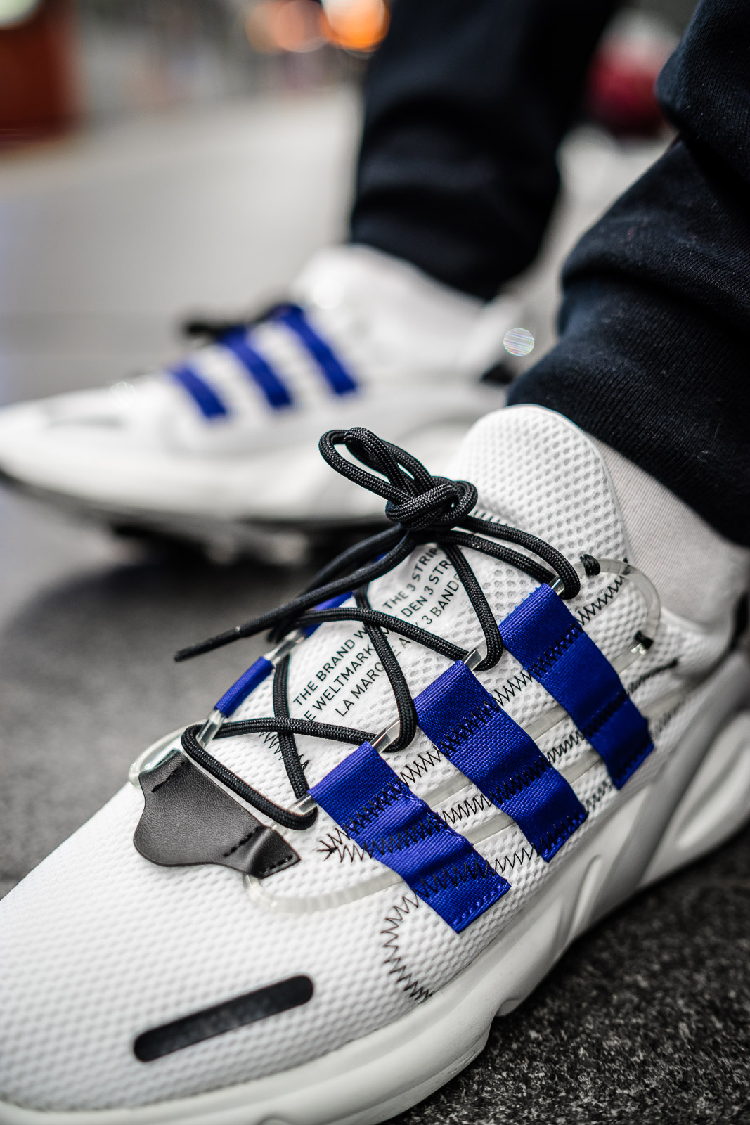 really cheap stable quality half price adidas Lxcon Active Blue - on feet | Dead Stock