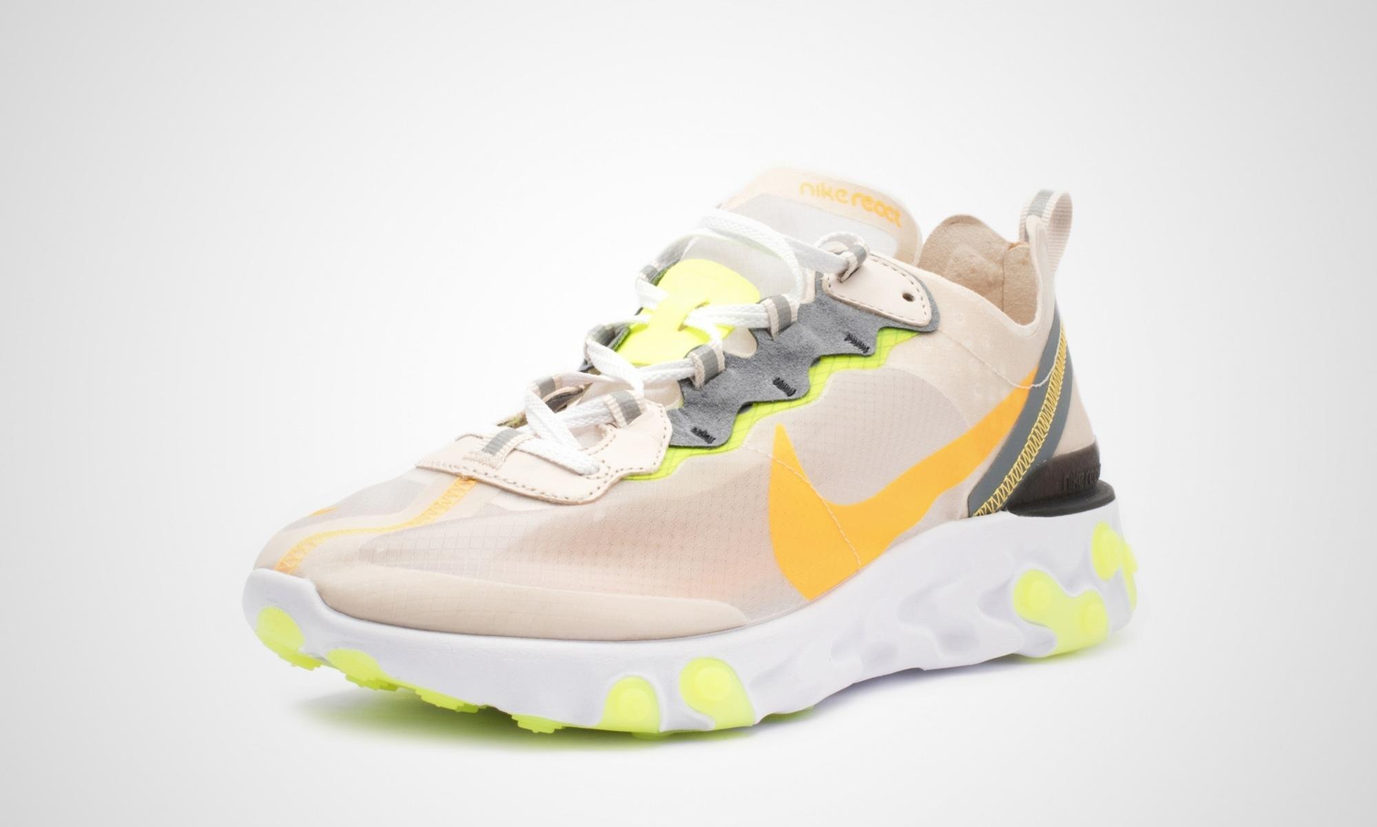 Nike React Element 87 Laser Orange Dead Stock Sneakerblog
