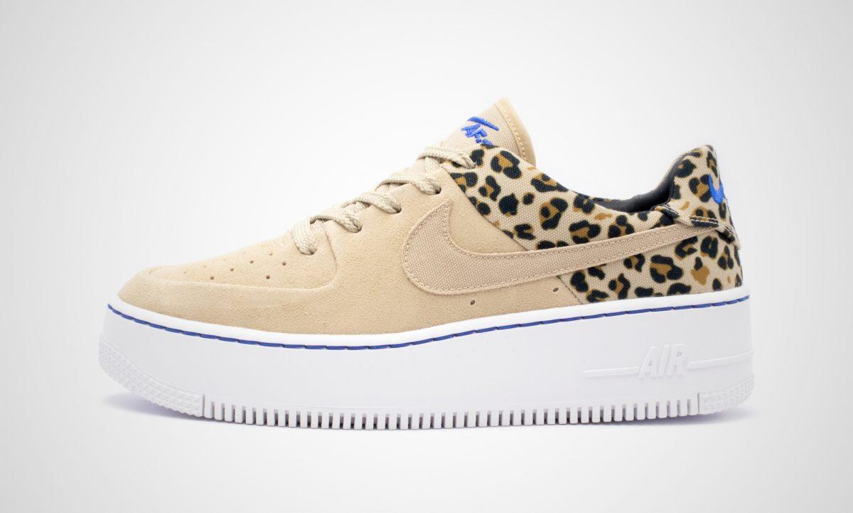 nike air force leopard