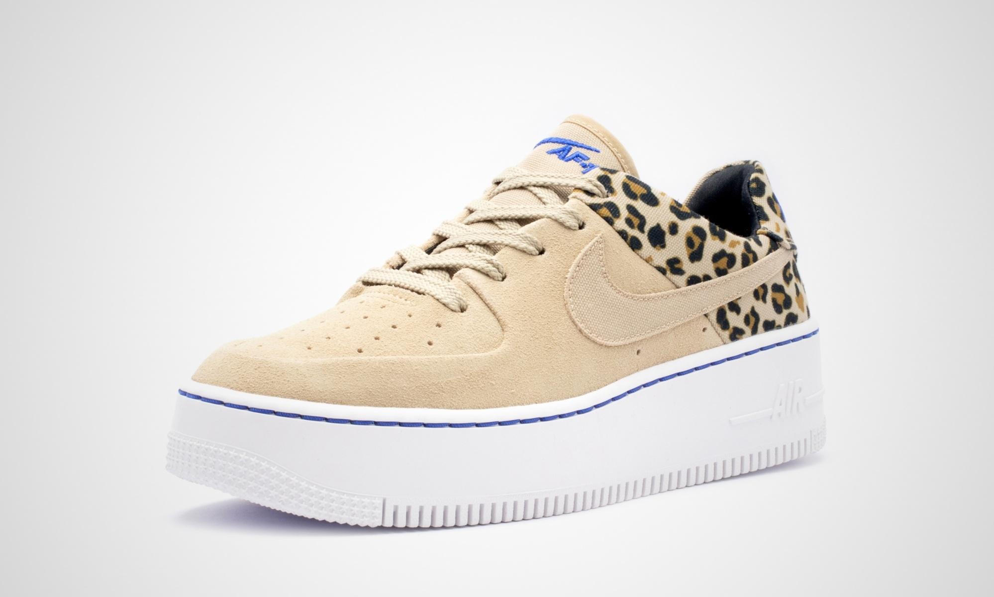 Nike WMNS Air Force 1 Sage Low PRM Leopard