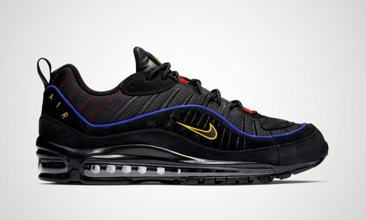 Nike Air Max 98 Black Amarillo | Dead Stock Sneakerblog