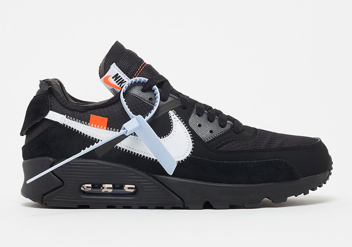 discount classic styles save up to 80% OFF-WHITE Nike Air Max 90 Black