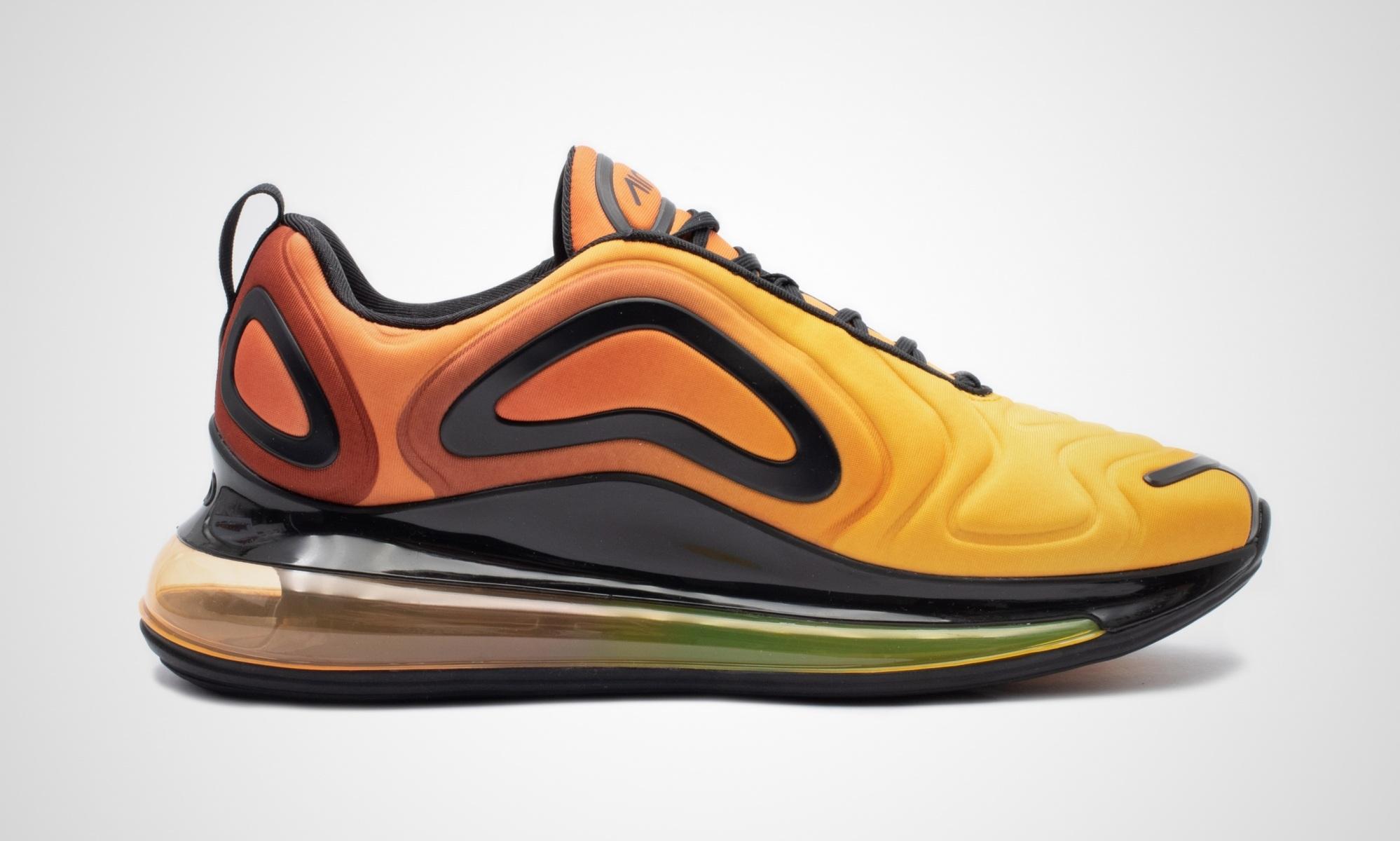 Nike Air Max 720 Sunrise in orange AO2924 800 in 2020