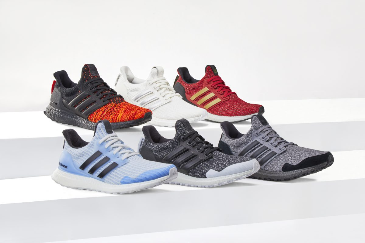 adidas Ultra Boost x Game of Thrones Schuh Sneaker Targaryen LTD