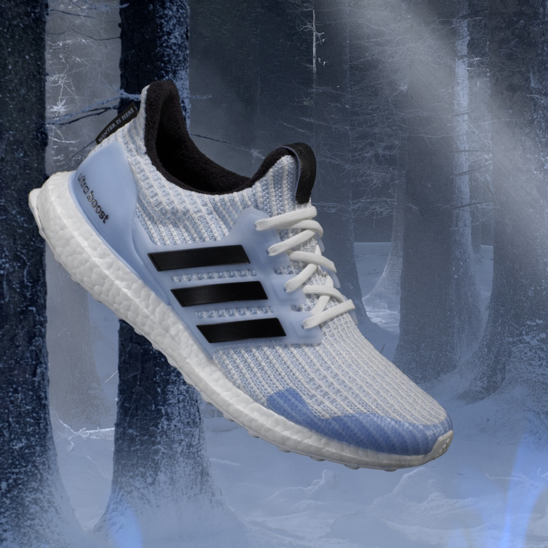 adidas x Game Of Thrones Ultra Boost White Walker