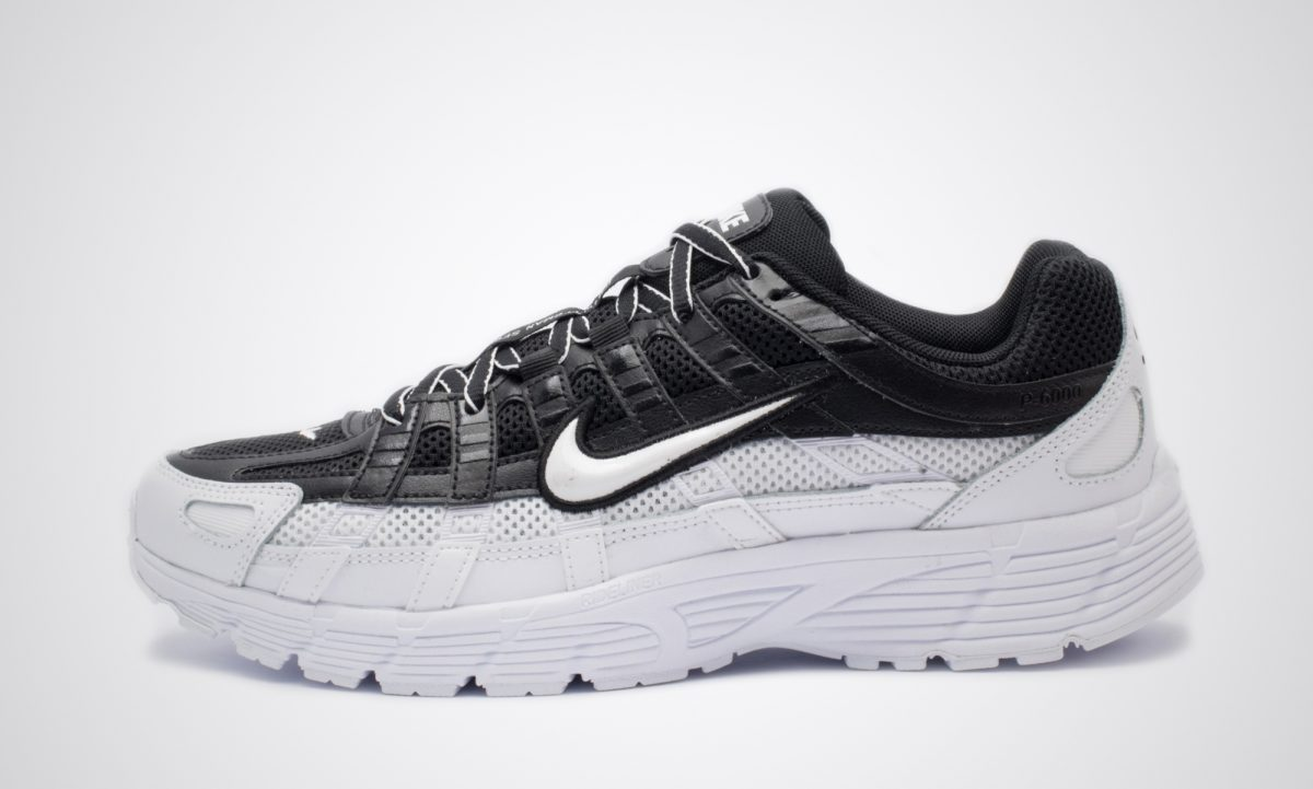 P 6000 Sneaker low black