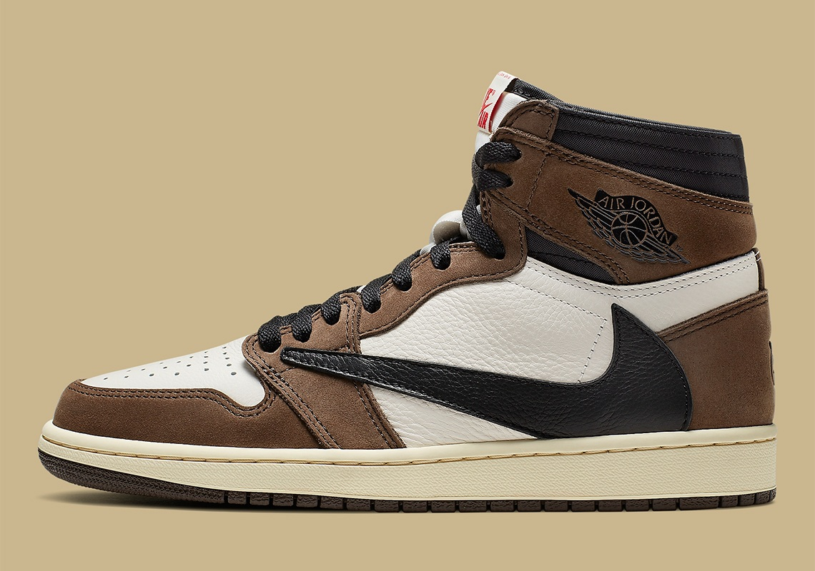 save off d3626 83183 Nike x Travis Scott Air Jordan 1 Cactus Jack