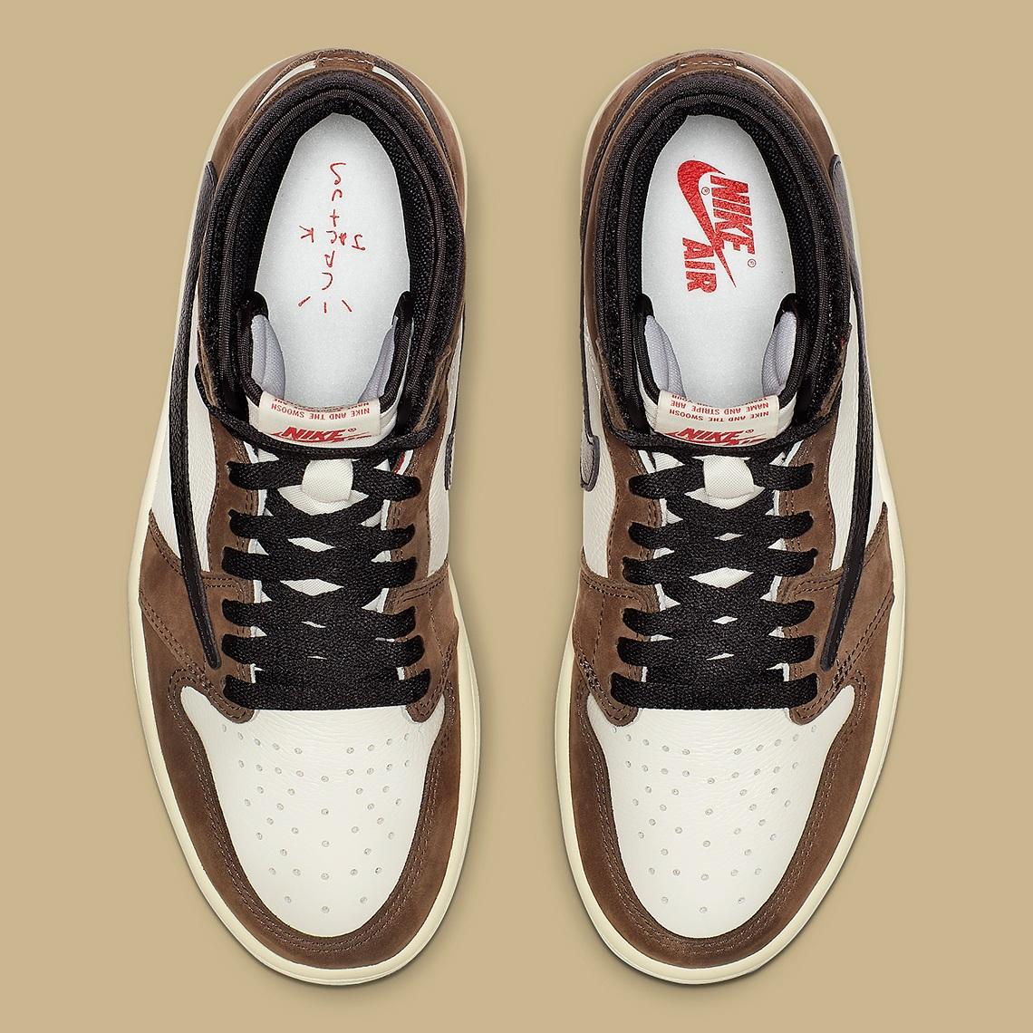 good texture buying cheap authorized site Nike x Travis Scott Air Jordan 1 Cactus Jack