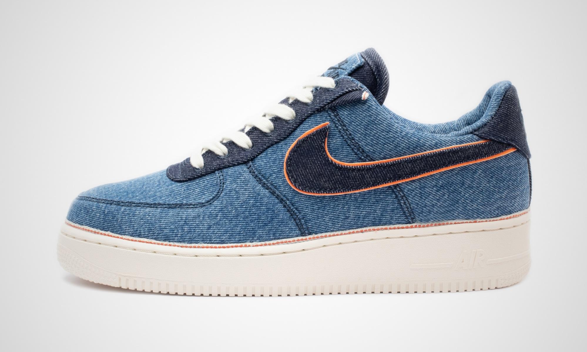Nike x 3x1 Air Force 1 Stonewash Blue | Dead Stock Sneakerblog