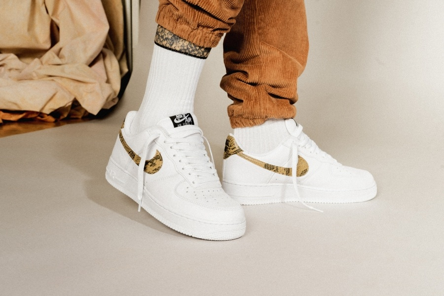 Nike Air Force 1 SC Ivory Snake Comeback | Dead Stock