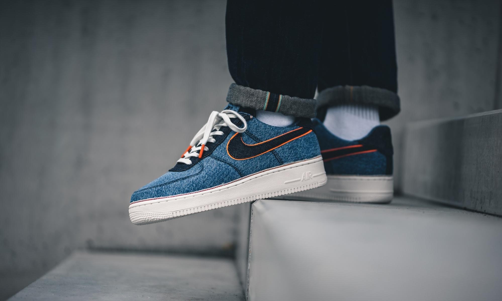 Nike x 3×1 Air Force 1 Stonewash Blue