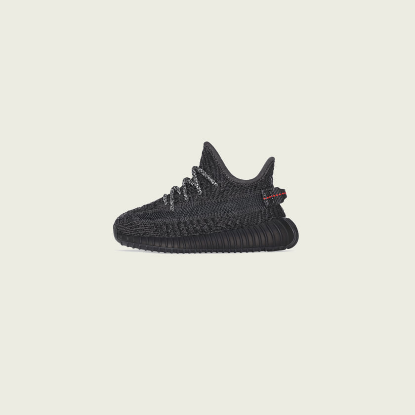 adidas Yeezy Boost 350 V2 Infants All Black