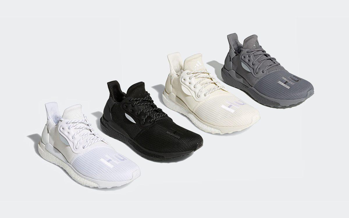 adidas x Pharrell Williams Solar Hu PRD Greyscale Pack