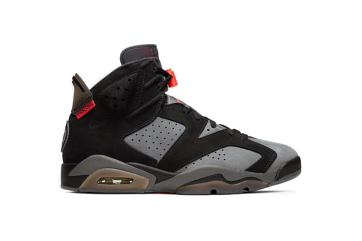 Nike x PSG Air Jordan 6 Retro Iron Grey