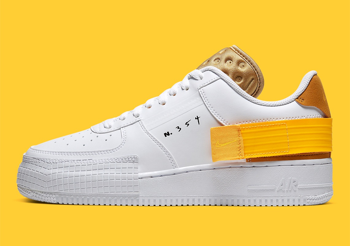 Nike Air Force 1 Type 'N354' Yellow | AT7859 100