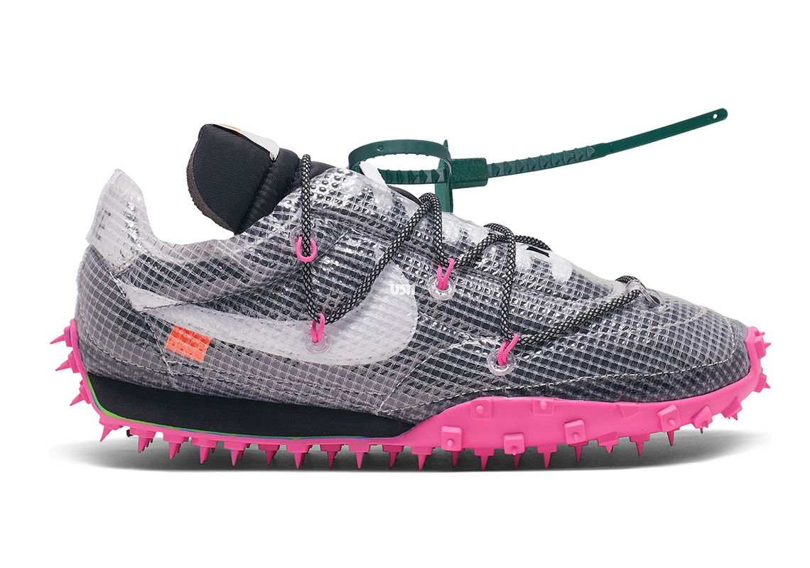 Off White x Nike Waffle Racer WMNS 2019 Release Date CD8180
