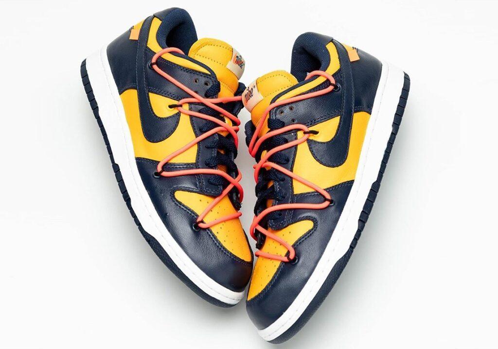 Nike x Off-White Dunk Low Michigan