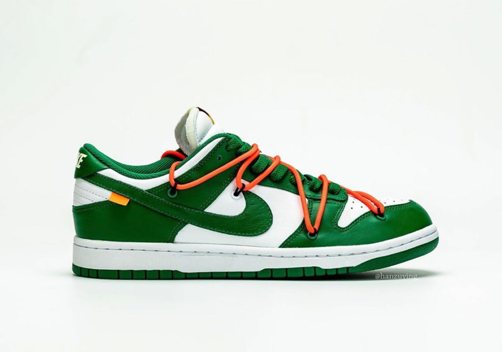 Nike x Off-White Dunk Low Pine Green