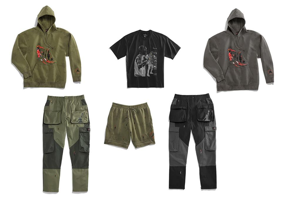 exclusive range large discount top brands Travis Scott x Nike Jordan 6 Apparel | Alle Release-Infos ...