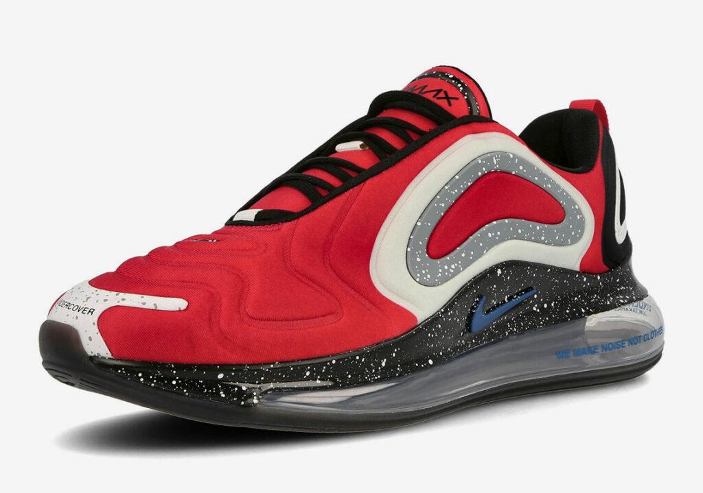 Air Undercover Red 720 Max Nike x University lFTJ1Kc