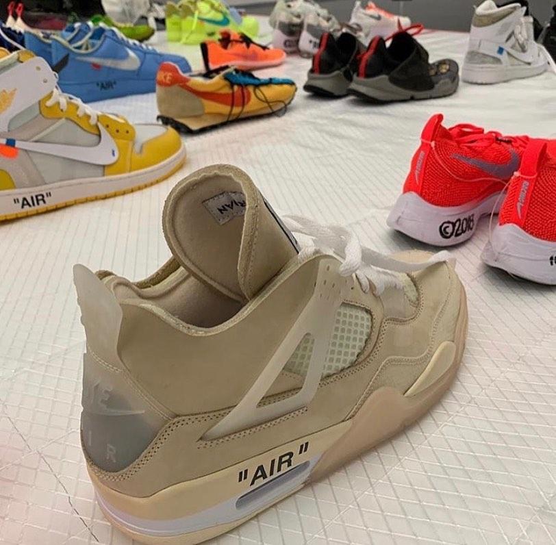 Off-White Air Jordan 4 - Samples